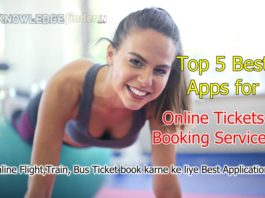 top 5 Apps for ticket booking